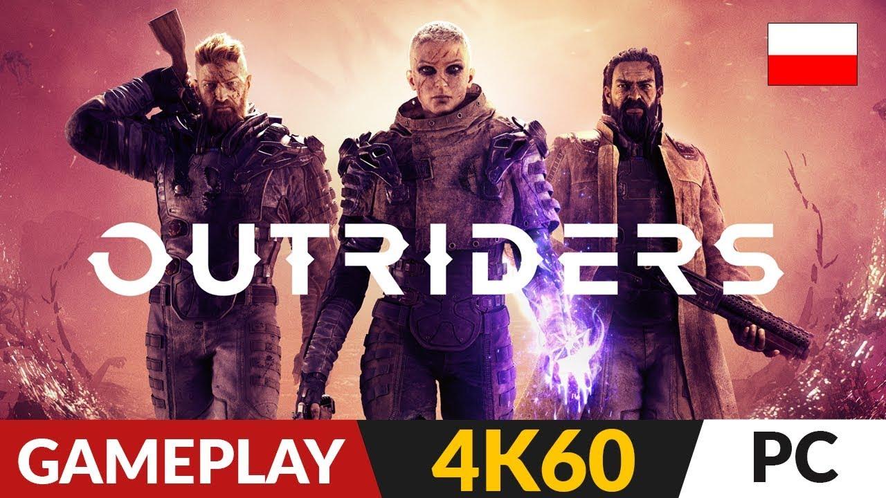 Outriders PL ???? Pierwsze wrażenia ⚡️ Nowa polska gra AAA | 4K 60FPS Gameplay po polsku
