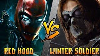 Красный Колпак (DC) vs Зимний Солдат (Marvel)/Red Hood vs Winter Soldier - Кто Кого? [bezdarno]