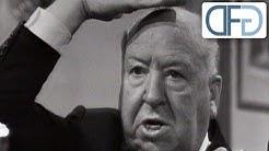 Frankfurter Stammtisch mit Alfred Hitchcock (er spricht Deutsch!), 1966