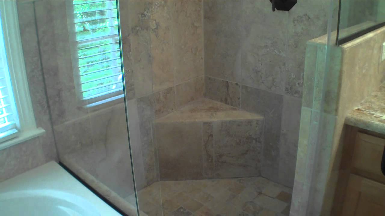 The Corner Shower Bathroom Remodel Youtube