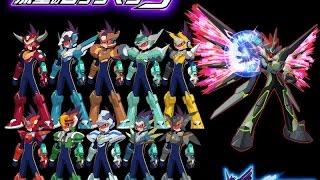 Megaman star force 3 all multi noises 100 noises