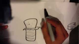How to Draw a Burrito - Easy Pictures To Draw