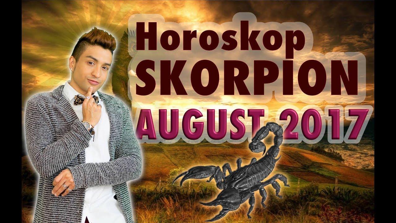 Aszendent Skorpion Horoskop August 2017 Youtube
