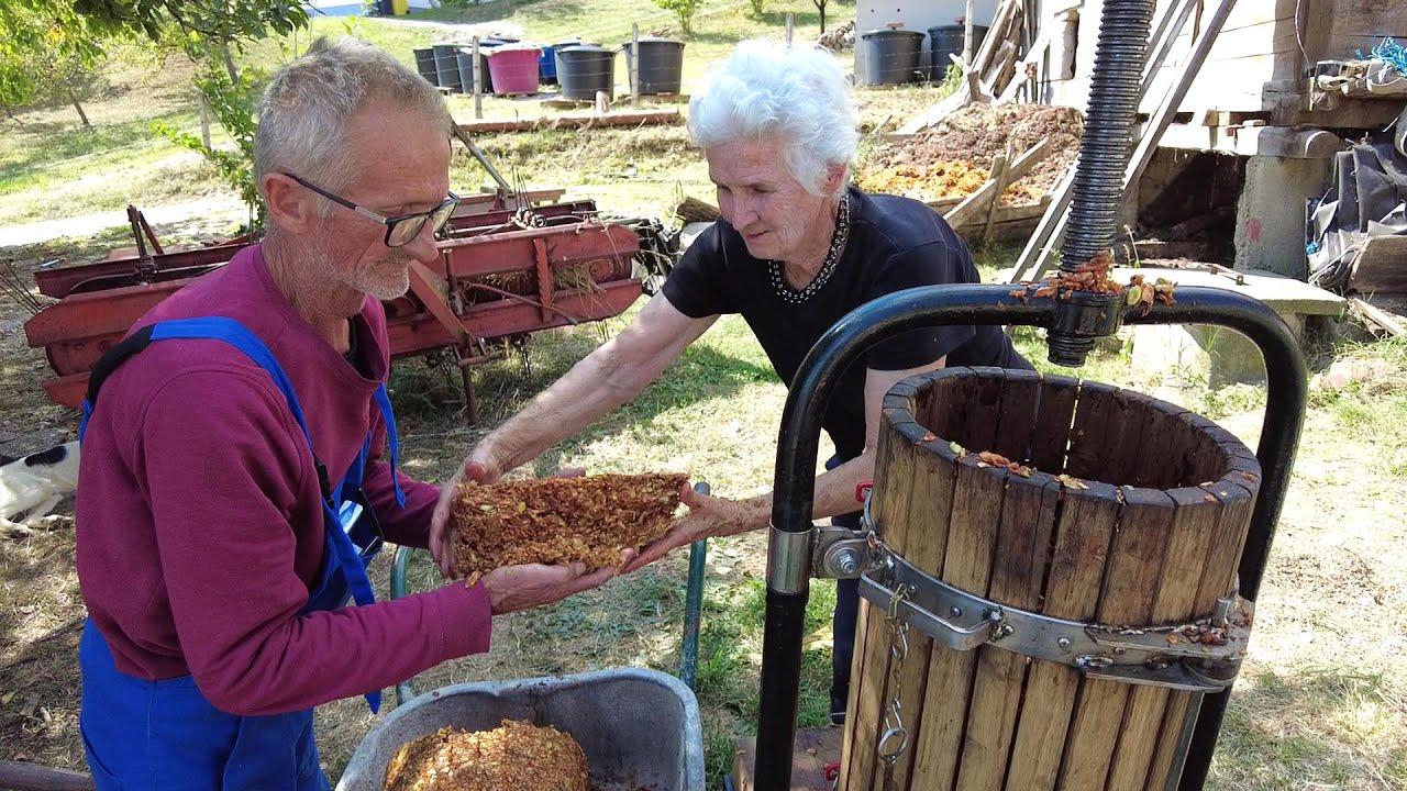 Download Kako baka Ana i njen stari kum Ivan obrade hiljade kila jabuka!