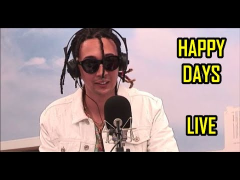 HAPPY DAYS - GHALI live @ Radio Deejay 2017