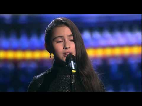'Non, je ne regrette rien'(Edith Piaf).Saida.The Voice Kids Russia 2015.Finale.