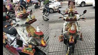Chiếc 'xe máy cõi thiên thai' – sản phẩm 'trừ tà' giúp chủ nhân bình an giữa tháng cô hồn