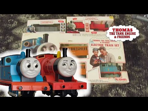 Thomas the Tank Engine & Friends – Lionel G Scale – Unboxing + Review | Thomas and James