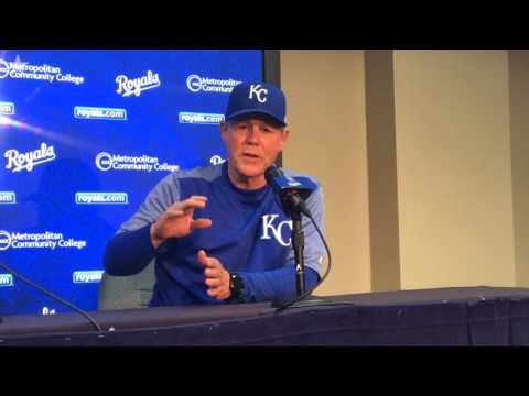 Royals manager Ned Yost on his ejection