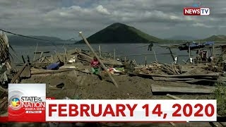Gambar cover State of the Nation with Jessica Soho Express: February 14, 2020 [HD]