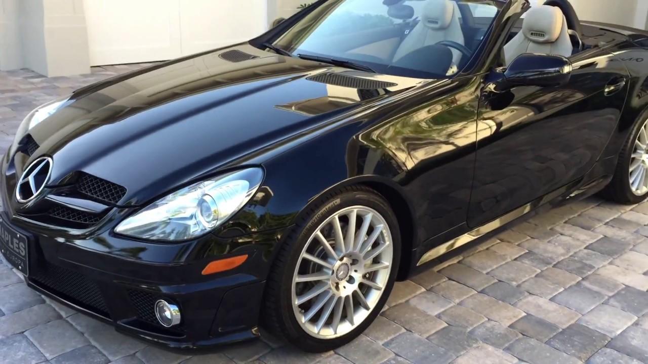 Sold 2011 mercedes benz slk300 amg sport for sale by for Mercedes benz slk300