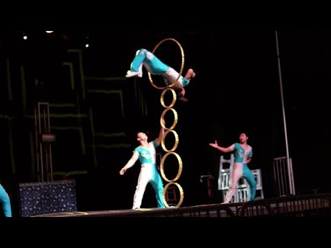 Chinese Acrobat Extend What is Humanly Possible