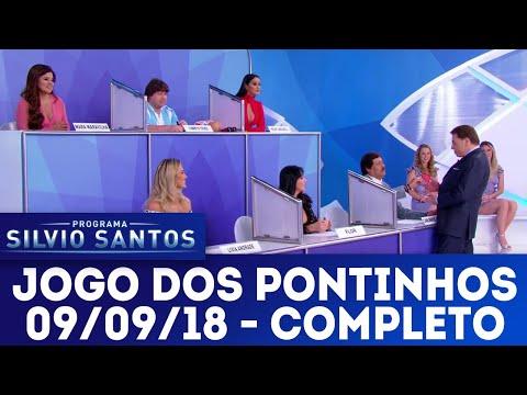 Jogo dos Pontinhos | Programa Silvio Santos (09/09/18)