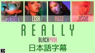 【日本語字幕】BLACKPINK - Really 【かなるび】 thumbnail