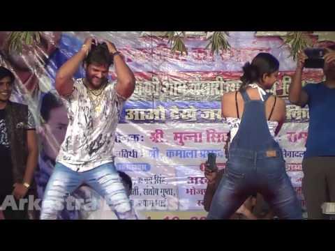16) Stage Show Sarso Ke Sagiya Taja . Khesari Lal Yadav .Mehndi Laga Ke Rakhana .