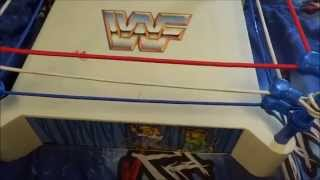 WWF LJN Vintage Wrestling Ring 1985 - WWE Toy Showcase Ep.1