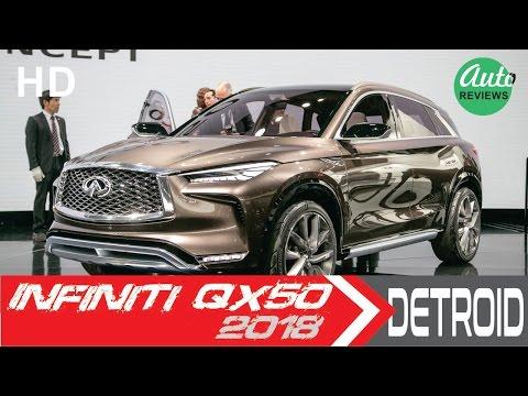 2018 Infiniti QX50 Concept [UNVEILED] in Detroit Auto Show 2017