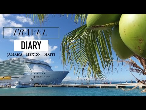 TRAVEL DIARY: Harmony Of The Seas - Biggest Ship In The World! | PinkOrchidMakeup