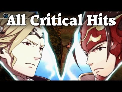 Fire Emblem Fates - All Critical Hit Quotes (Full HD 60fps, Playable Characters)