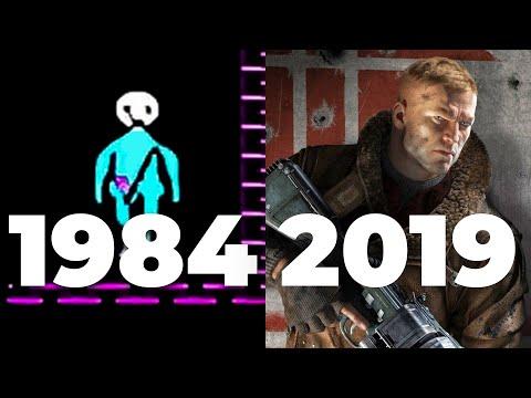 Evolution of Wolfenstein Games 1984-2019  