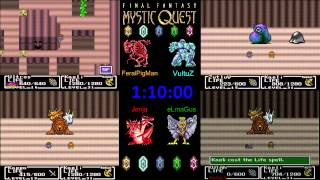 Winter 2015 Final Fantasy IV-V-VI Relay Bonus - Final Fantasy Mystic Quest