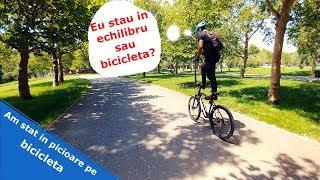 Am stat in picioare pe bicicleta - Romet Rambler 26