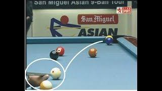 Efren Reyes vs Satoshi Kawabata 9-ball QF San Miguel 3/3