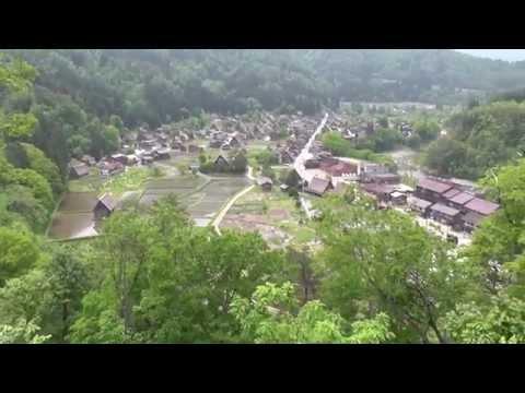 世界遺産 ひだ白川郷合掌造り集落 岐阜県 Japan tourism in world heritage shirakawago Gassho village