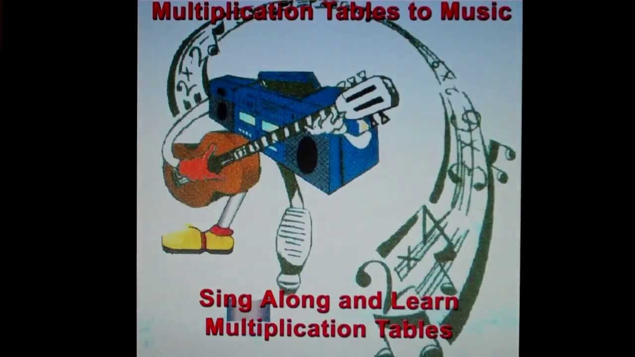 Multiplication Tables to Music CD: Sample seven times tables song ...