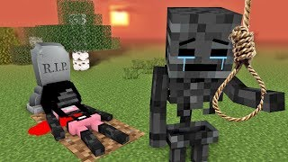 MONSTER SCHOOL : SORRY WITHER GIRL - RIP Wither Skeleton Life 2 - Sad Minecraft Animation