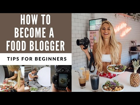 Tips on how to start as a food blogger in 2020!