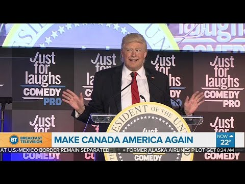 Make Canada America Again: 'The President' comes to Montreal