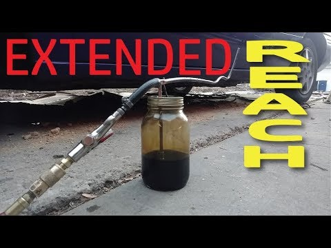 Diy make vehicle undercoating oil spray gun youtube for Undercoating with used motor oil