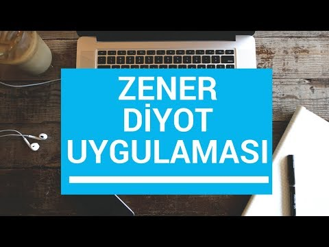 Analog Elektronik Ders 29: Zener Diyot Uygulaması Örnek
