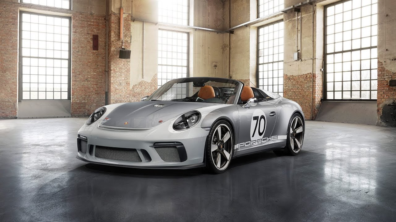 Porsche 991 Speedster Concept New Limited Edition For