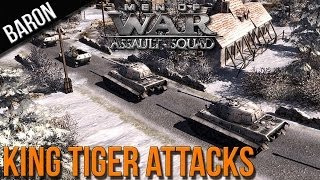 Men of War Assault Squad - King Tigers and Panzergrenadiers - MOWAS