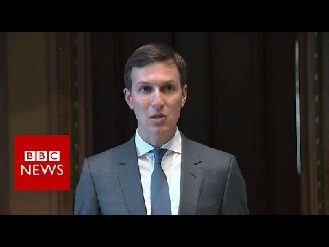 Ever wondered what Jared Kushner sounds like? - BBC News