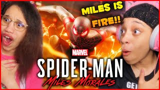 Exclusive Look at Steąlth and Combat in Marvel's Spider-Man: Miles Morales REACTION!!