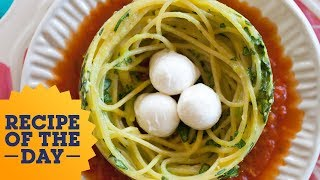Recipe of the Day: Giada's Spaghetti Nests | Food Network