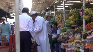 Dubai fruit & vegetable market