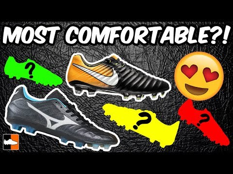 9f3ab6415635 What Are The Most Comfortable Boots ! Top 10 Leather Soccer Cleats! - YT