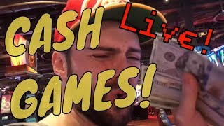 Poker Cash Games Sunday Night Live!