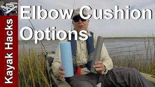 Fishing Kayak Setup: Add an Elbow Cushion to the Seat