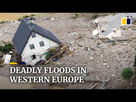 At least 59 killed by floods in Germany after record rainfall lashes western Europe