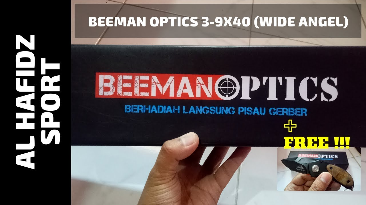 Telescope beeman optics wide angel youtube
