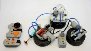 Lego Servo Motor Pneumatic Switch