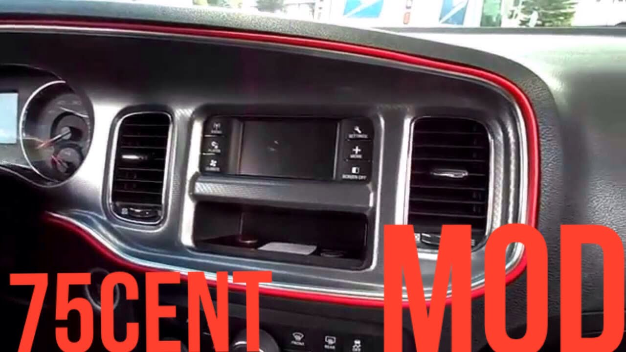 75 Cents Charger Interior Mod Youtube