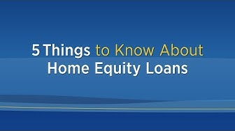 5 Things to Know about Home Equity Loans | 3Rivers Federal Credit Union