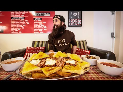 THE 'HEART ATTACK' BREAKFAST CHALLENGE | The Chronicles of Beard Ep.177