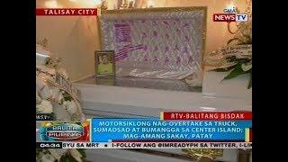 BP: Motorsiklong nag-overtake, sumadsad at bumangga sa center island; mag-amang sakay, patay